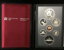 Lot of 10 DIFFERENT CANADA PROOF DOUBLE DOLLAR SETS