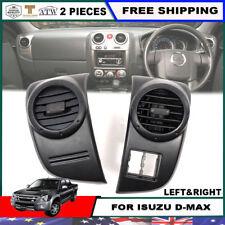 Pair LH RH Air Vent Ventilator Grille For 07-11 Isuzu D-max Dmax Holden Rodeo
