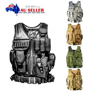 Einsatzweste Taktische Weste Kampfmittelweste Modular Tactical Combat Vest MOLLE