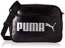 PUMA Campus Reporter PU Tasche Black 46x29x2.3 Cm