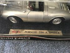 Maisto 1948 Porsche 550A Spyder 1:18 Diecast Car - Special Edition - NEW