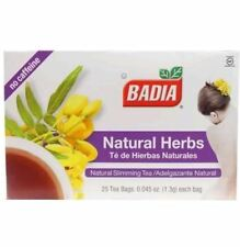 Badia Natural Herbs Tea Natural Slimming Tea Caffeine Free