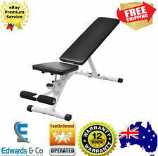 Adjustable Sit Up Abdominal Bench Core Press Weight Gym Exercise Fitness WorkOut