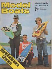 MODEL BOATS MAGAZINE NOVEMBER 1978