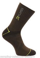 NEW Regatta Mens ANTI BLISTER Double Layer SOCKS Hiking Walking Padded Boot Sock