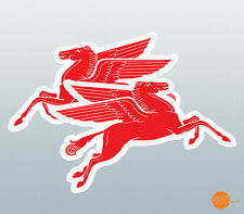Pegasus decal pair / flying horse decal / Mobil Style Pegasus Stickers