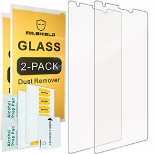 2-Pack-Mr.Shield for Nokia Microsoft Lumia 1520 Tempered Glass Screen Protect...