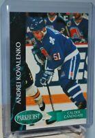 1992-93 Parkhurst #150 Calder Candidate Andrei Kovalenko Quebec Nordiques