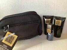 Liz Claiborne Men's Bora Bora Cologne Lotion Hair Gel Set Nylon Travel Case Bag