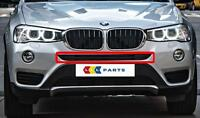 BMW X3 F25 SERIES 14-16 NEW GENUINE FRONT BUMPER UPPER CENTRE GRILL 7338493