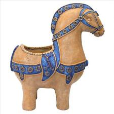 Immortal Greek Horse Areion Urn Home Decor Homer's Illiad Equine Planter