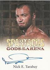 "Spartacus 2012: Gods of the Arena Nick E Tarabay ""Ashur"" Autograph Card"