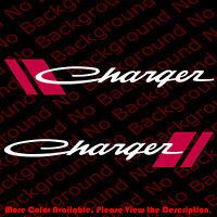 1 PAIR x MOPAR Car Window Decal//Sticker Ram Dodge Chrysler RC011 2-Layer Vinyl