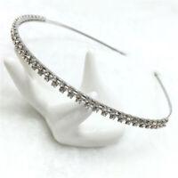 Double Crystal Hairband Headband Hair Accessories Hair Hoop For Women Girls New