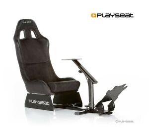 Playseat Evolution Alcantara Gaming Driving Seat Frame Cockpit Racing Simulator