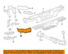 GM OEM-Bumper Trim-Insert Left 22900986