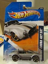 Hot Wheels Shelby Cobra 427 S/C Muscle Mania Silver