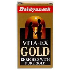 New Baidyanath Vita-Ex Gold 20 U (units) Free Shipping