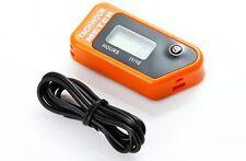 Drehzahlmesser mit Betriebsstundenzähler orange für Sägen Motorsägen Kettensäge