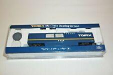 TOMIX  - SPUR N - 6421 SCHIENENREINIGUNGSWAGEN -  OVP (18.EI-100)