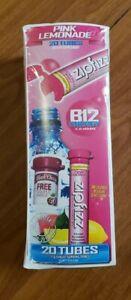 Zipfizz Energy Drink Mix - Pink Lemonade 24 Nutritional Ingredients(20 ct)