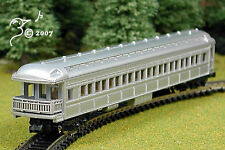 Overton Old Timey Silver Coach Train Car N Scale 1:160 by Model Power