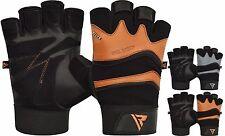 RDX Fitness Handschuhe Gewichtheben Krafttraining Training Sports Gym DE