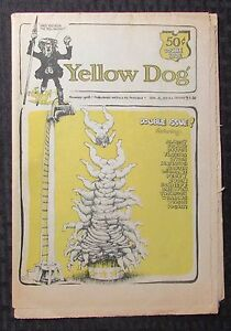1968 YELLOW DOG v.2 #2 VG/FN 5.0 Double Issue #9/10 R CRUMB Shelton Wilson 14pgs