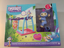 WowWee Fingerlings Monkey Bar and Swing Playground Playset With Liv