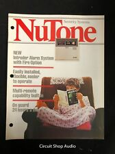 Vintage 1979 Nutone / Security Systems / Catalog