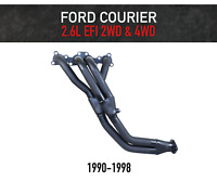 Headers / Extractors for Ford Courier 2.6L EFI (1990-1998)