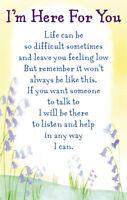 I'm Here For You Heartwarmers Keepsake Credit Card & Envelope Gift