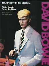 """DAVID BOWIE PHOTO BOOK """"OUT OF THE COOL"""" JAPANESE VDERSION"""