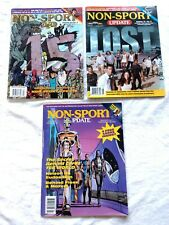 Non-Sport Update - Issues 5-1 (1994), 16-5 (2005) and 16-6 (2006)