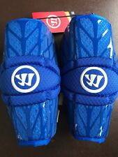 New Warrior Burn 2 Royal Blue Large Lacrosse Protective Arm Pads Nwt