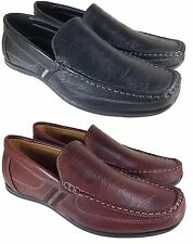 Men Brix Leather Driving Casual Shoes Moccasins Slip On Loafers Rayco_01