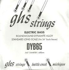 Corde basse 1 corde GHS-DYB65 - à l'Unité - Roundwound Dynamite Alloy