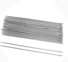 10pcs Silver Tone Steel Hand Long Sewing Needles 6.6cm Long agulhas pins set