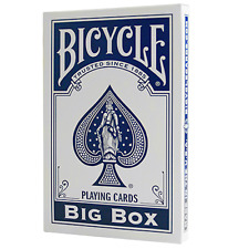 Big Bicycle Cards (Jumbo Bicycle Cards, Blue) ships from Murphy's Magic