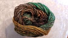 Noro Silk Garden #449 Kingstone Green Gold Brown Charcoal Mix 50g