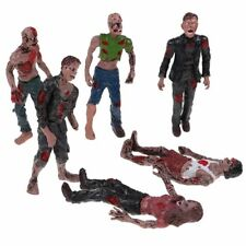 Set 6Pcs Walking DEAD Corpses Movie Characters Action Zombie Figures Kid Toy US