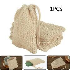 Natural Soap Bag Exfoliating Foaming Pouch Mesh Bags Foaming Bags Net A7O0