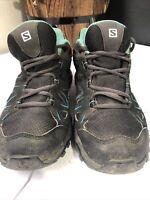 Salomon Tibai GTX Waterproof Hiking Walking Shoes Size UK 4 EU 36.5 Free Deliver