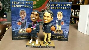 Lebron James & Coach Keith Dambrot Akron Zips Bobbleheads Cleveland Lakers