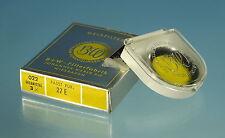 """Schneider-kreuznach B + W filtros de color """"amarillo-fondos"""" 27e 3x 022 color filter - 80806"""
