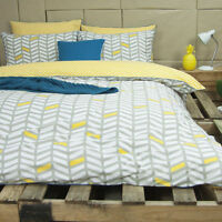 Ardor Banyan Reversible Cotton Quilt Doona Cover Set - Single Double Queen King