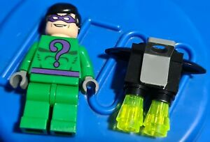 Genuine Lego DC BATMAN The Riddler Minifigure from 7787 bat023 displayed only