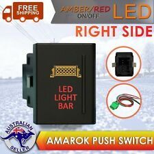 12V 3A On-Off Push Switch LED LIGHT BAR For Volkswagen VW Amarok - RIGHT
