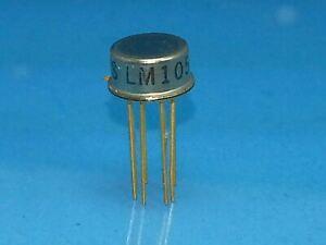 LM105  VOLTAGE RREGULATOR IC METAL CAN GOLD PIN 5 T0 45 VOLT ADJUSTABLE X18