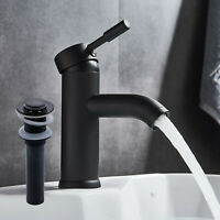 Waterfall Bathroom Faucet Single Handle Deck Mount Vessel Oil Rubbed Bronze Tap